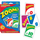 Trend, ZOOM! Multiplication Game, Ages 9 Years and Older, 1 to 4 Players