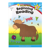Home Workbooks Gold Star Edition Activity Book: Beginning Reading, 64 Pages, Grade K
