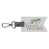 P. Graham Dunn, Forever Friends Keychain, White, Green, Gold, 2 x 3.5 inches
