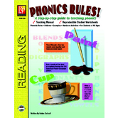 Phonics Rules!: A Step by Step Guide to Teaching Phonics