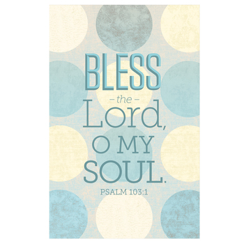 Salt & Light, Bless The Lord O My Soul Church Bulletins, 8 1/2 x 11 inches Flat, 100 Count
