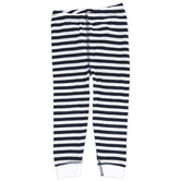 New Ewe, Navy and White Stripe Baby Pajama Pant, 6 Months-24 Months
