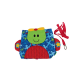 Stephen Joseph, Airplane Little Buddy Bag, Ages 1 to 4 Years Old, 9 1/4 x 9 1/2 x 2 3/4 inches