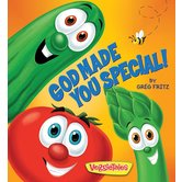 Ideals Publications, VeggieTales: God Made You Special Board Book, by Greg Fritz, Hardcover
