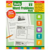 Evan-Moor, Daily Word Problems Teacher's Edition, Paperback, 128 Pages, Grade 3