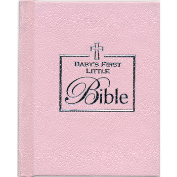Brownlow Gifts, Baby's First Little Bible/Pink