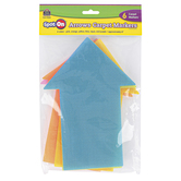 Teacher Created Resources, Spot On Carpet Markers Arrows, Assorted Colors, 6 Pieces, 8 Inches