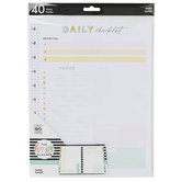 MAMBI, The Happy Planner Everyday Paper, 11 x 8 1/2 Inches, 40 Sheets