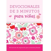Devocionales de 3 Minutos para Ninas, by Barbour, Paperback