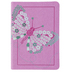 TPT New Testament for Girls, Imitation Leather, Purple with Butterfly Design