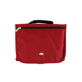 Christian Art, Tri-Fold Bible Cover, Micro-Fiber, Red, Multiple Sizes Available