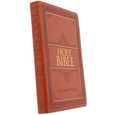 KJV Thinline Bible, Large Print, Thumb Indexed, Imitation Leather, Multiple Colors Available