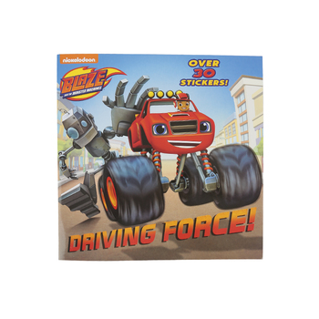 Driving Force, Blaze and the Monster Machines, by Segundo Garcia, Paperback
