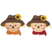 Brother Sister Design Studio, Scarecrows Craft Kit, Foam, Makes 24 Scarecrow Faces