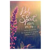 Salt & Light, Holy Spirit Rain On Us Church Bulletins, 8 1/2 x 11 inches Flat, 100 Count