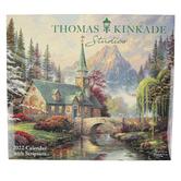 Andrews McMeel Publishing, Thomas Kinkade Studios Deluxe 2022 Calendar, 13 1/2 x 24 inches