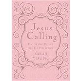 Jesus Calling 365 Daily Devotional, Women's Edition, by Sarah Young, Imitation Leather, Pink