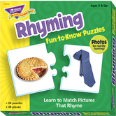 Rhyming Fun To Know Puzzle