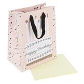 DaySpring, Happy Birthday Cake Medium Gift Bag, 9 3/4 x 7 3/4 Inches