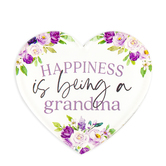 P. Graham Dunn, Happiness Is Being A Grandma Heart Magnet, Acrylic, 2 3/4 x 2 3/4 x 1/4 inches