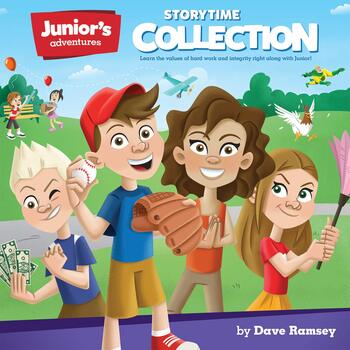 Juniors Adventures Storytime Collection: Teaching Kids How to Win with Money, by Dave Ramsey