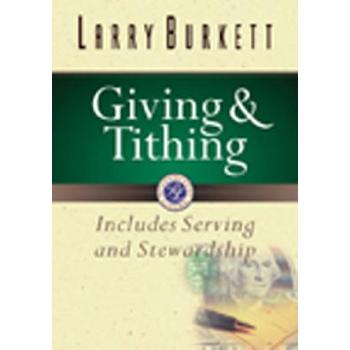 Giving and Tithing, by Larry Burkett, Paperback