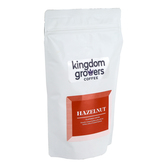 Kingdom Growers Coffee, Hazelnut Coffee Grounds, 12 ounces