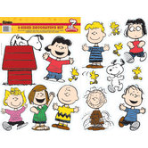 Peanuts Collection, Classic Characters Two-Sided Hanging Decorations, 15 Pieces