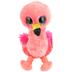 Ty, Beanie Boos, Gilda Flamingo Plush, Coral, 6 inches
