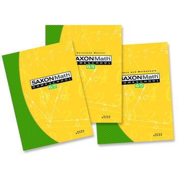 Saxon Math 6/5: Homeschool Kit