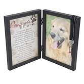 The Grandparent Gift Co., Pawprints Left By You Frame & Vial, Holds 5 x 7 inch Photo, 10 x 14 inches