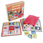 Spanish Vocabulary Bingo, 2nd Edition, 55 Pieces, Grades K-5
