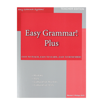 Easy Grammar Plus Teacher