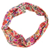 Natural Life, Blush Floral Half Boho Bandeau, Polyester, Blush Pink, 9 x 10 inches