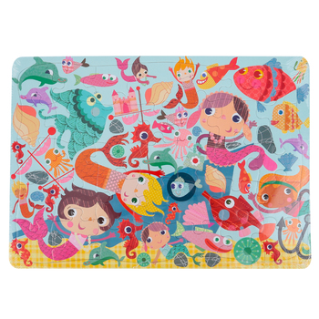 Outset Media, Mermaids Puzzle, 35 Pieces, 14 x 10 inches
