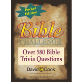 David C. Cook, Pocket Bible Challenge Card Game, Ages 10 Years and Older, 2 or More Players