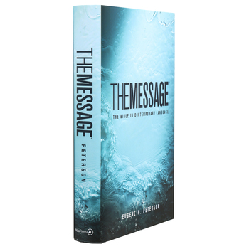 MSG The Message Numbered Edition, Hardcover