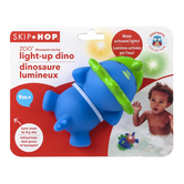 Skip Hop, Dakota Dinosaur Zoo Light Up Bath Toy, 3 x 4 1/4 inches