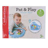 Infantino, Pat and Play Whale Water Mat, Blue, 9 3/4 x 1 1/2 x 7 1/4 inches