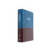 NIV The Woman's Study Bible, Imitation Leather, Blue and Brown