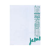 Renewing Minds, Names of Jesus, Letterhead, 8.5 x 11 Inches, Multi-Colored, 50 Sheets