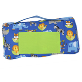 Stephen Joseph, Zoo Animal All Over Print Nap Mat, 20 x 52 x 1 inches