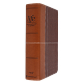 NIV Life Application Study Bible, Personal Size, Third Edition, Imitation Leather, Multiple Colors