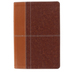 NIV Life Application Study Bible, Duo-Tone, Tan and Brown, Thumb Indexed