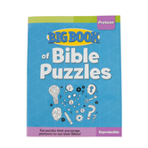 Big Book of Bible Puzzles for Preteens by David C Cook, Paperback, 208 Pages, Ages 7-12