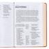 NKJV Giant Print Center-Column Reference Bible, Imitation Leather, Tan, Floral Design
