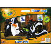Crayola Giant Coloring Floor Pad, 22 x 16 inches, 30 Pages