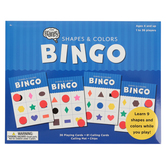The Brainery, Shapes and Colors Bingo, 1 to 36 Players, Ages 4 and up