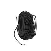 #95 Parachute Cord, Black, 3/16 inches x 50 feet