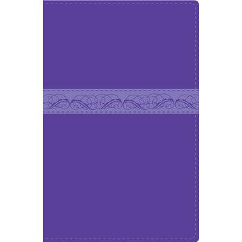 RVR 1960 Devotional Spanish Bible for Women, Duo-Tone, Purple